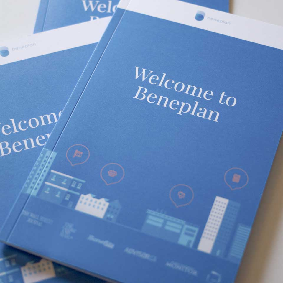 Beneplan Booklets Stacked