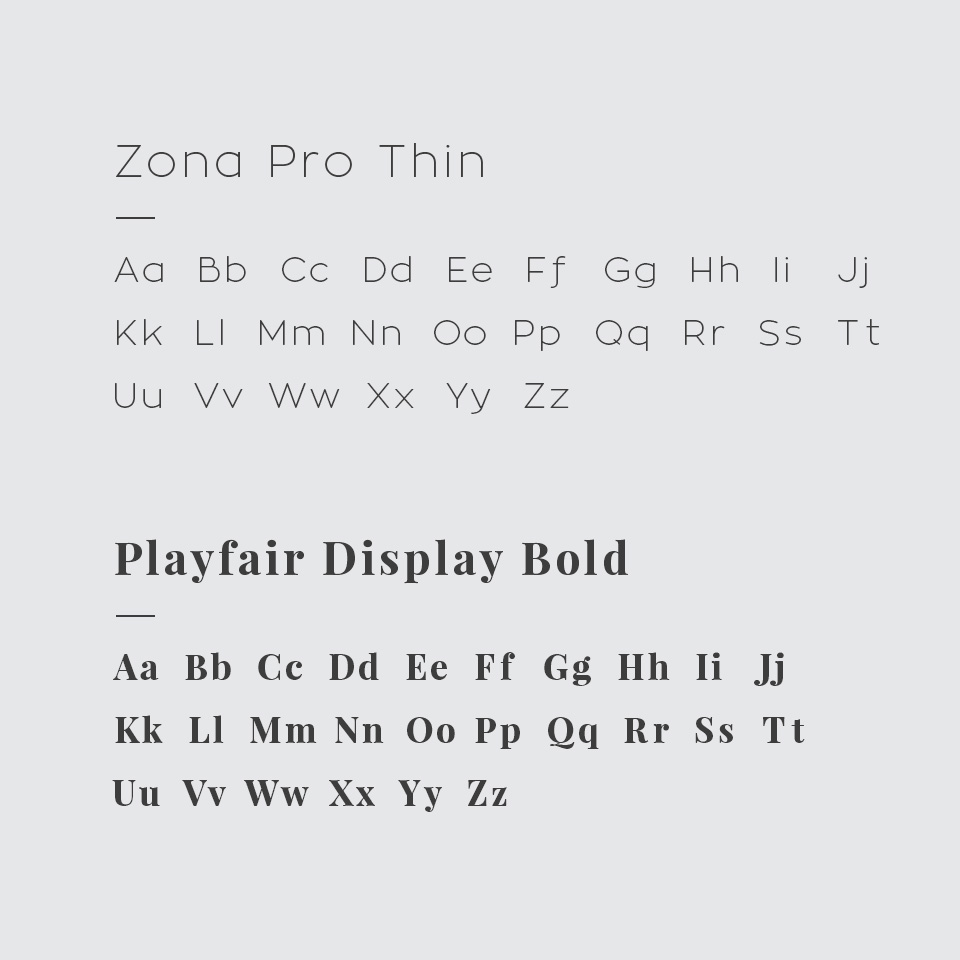 Beneplan Booklets Fonts