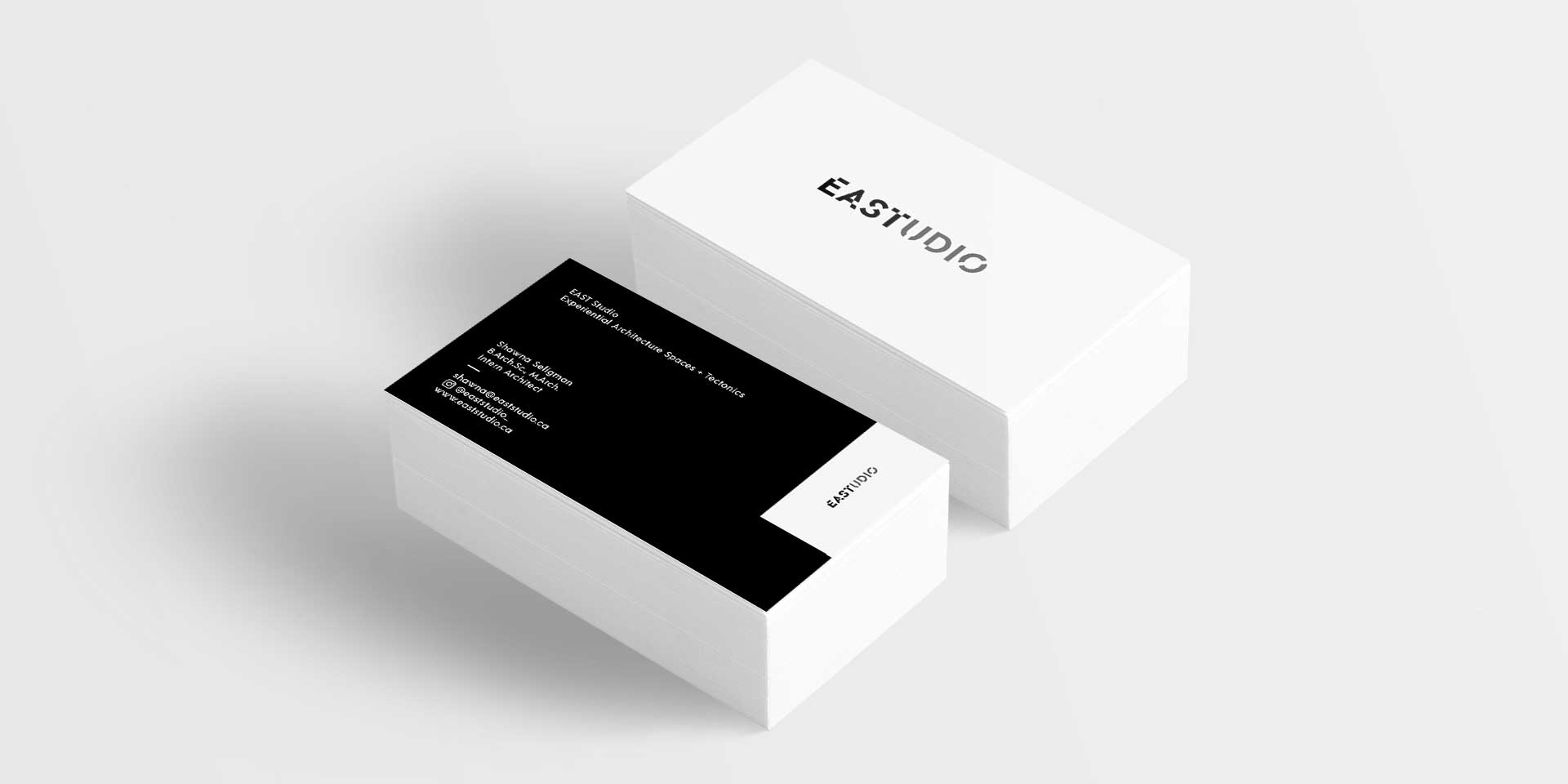 EAST Studio business cards